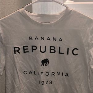 Banana Republic T-Shirt - White